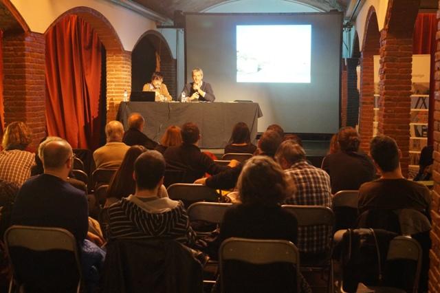 Francesc Muñoz i David Bravo a la jornada Peoplescapes