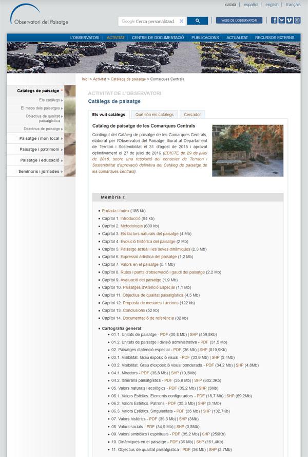 Bases cartogràfiques dels catàlegs