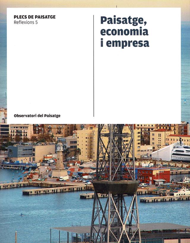 Portada llibre Paisatge, economia i empresa
