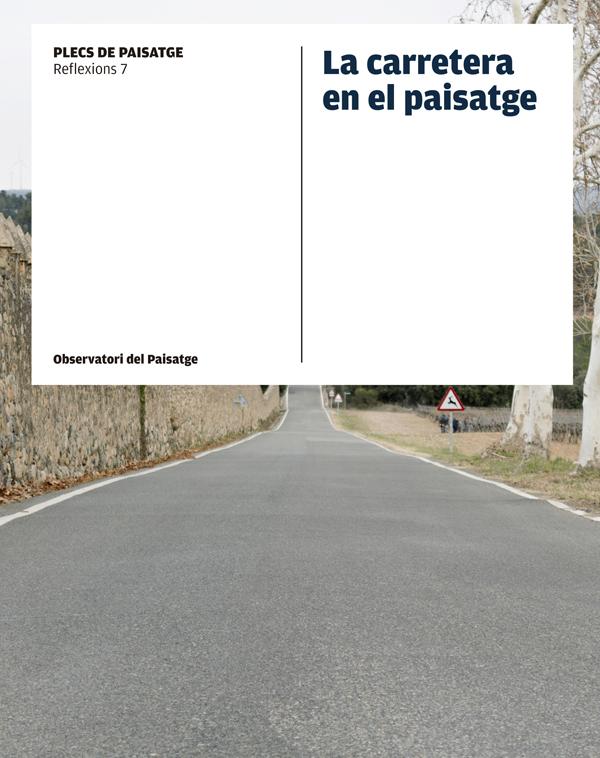 Portada de la publicación La carretera en el paisatge